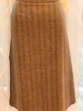 Vintage jupe tweed-dessus genou -- superbe qualité cotswold tissé-taille 14