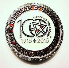 2015 NOAC Order of the Arrow 100th Anniversary OA Centennial Belt Buckle