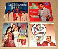 LATE '50's-EARLY '60's ROCK-N-ROLL: Imperials/Ral Donner/Frankie Ford/Bill Haley