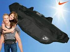 New NIKE CORDURA Hood Hip Waistpack Bum Bag Expandable Waist Bags Black