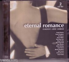 Eternal Romance Classic Love Songs 2CD Greatest 50s 60s NAT KING COLE LENA HORNE