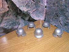 (f 4/7) 5 romanos cascos legionario estándar de plata 4271 4272 4273 4274 4275