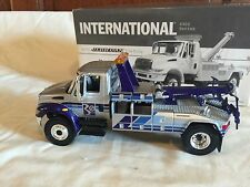 First Gear 1:34 International 4400 Series Truck Jeerdan Tow Body Wrecker Blue