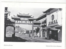"*POSTCARD-""The Central Plaza""  ...ChinaTown in Los Angeles, California (#55)"