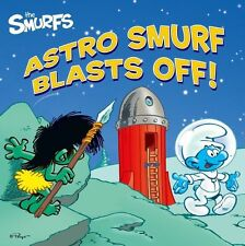 Astro Smurf Blasts Off! (Smurfs Classic)-ExLibrary