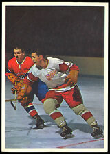 1963-64 TORONTO STARS IN ACTION GILLES TREMBLAY VGEX CANADIENS HOCKEY PHOTO CARD