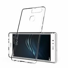 Slim Transparent Clear Hard Plastic Back Case Shell Cover Skin For Huawei P9