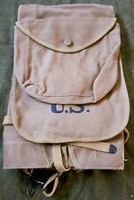 WWI WWII US M1910 HAVERSACK COMBAT FIELD PACK-OD#9
