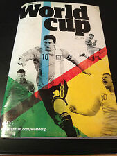 BRAZIL WORLD CUP 2014 GUIDE THE GUARDIAN SPECIAL BOOKLET - BRAND NEW