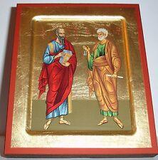 Ikone Apostel Petrus u. Paulus Peter Paul Icon Ikona Ikonen orthodox икона Icoon