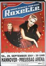 "ROXETTE TOUR POSTER / KONZERTPLAKAT ""ROOM SERVICE TOUR 2001"""