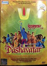 Dashavatar - Every Era Has A Hero - Animated Hindi Movie DVD ALL/0 Subtitles
