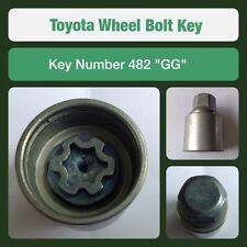 "Genuine Toyota Locking Wheel Bolt / Nut Key 482 ""GG"""