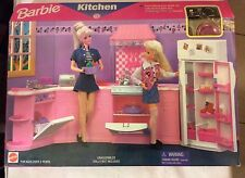 Barbie Folding Pretty House Kitchen 1996 Mattel 67554-91 RARE new in box sealed