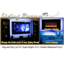 2x40 + 2x50cm 5050 RGB LED Mood Lighting Ideas TV Back Light 16 Colours Changing