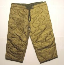 US Army NATO Liner Trouser Pants Military Winter Cold Winter Sport Hunt Short/de