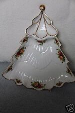 "Royal Albert OLD COUNTRY ROSES 15""  Divided Chip & Dip Tree Tray NWT"