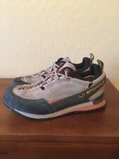 MEN'S LA SPORTIVA BOULDER X TRAIL SPORT HIKING SHOES US Size 8 SUEDE LEATHER