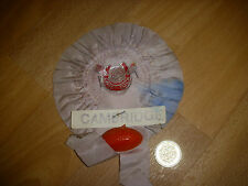 Original  Vintage  CAMBRIDGE  Raised Ball  RUGBY UNION  Rosette 1960's / 1970's