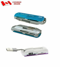 USB 2.0 Trans Flash Memory Multi-Card Adapter. All In One Multi-Card Reader