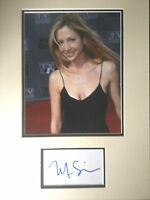 MIRA SORVINO - GREAT ACTRESS - STUNNING SIGNED COLOUR PHOTO DISPLAY
