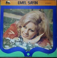 turkish turkey 70's LP-EMEL SAYIN- triple gatefold poster cover- made in israel