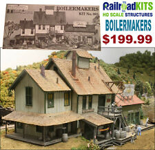 Boilermakers by Railroad Kits | Imagineering | HO Scale Craftsman Structure RARE