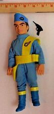 """Virgil Tracy Thunderbirds 9"""" Action figure by Matchbox 1994 100% complete rare"""