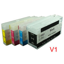 For HP950 HP951 HP 950 951 Pro8100 pro8600 refillable ink cartridge with chips