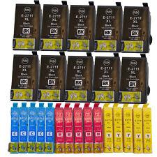 25 Ink Cartridges For Epson Workforce WF-3620DWF WF-3640DTWF WF-7110DTW WF-7610