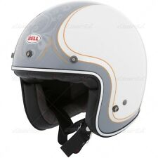 NEW BELL CUSTOM 500 CUE BALL MOTORCYCLE HELMET SIZE LARGE RETRO FREE SHIP