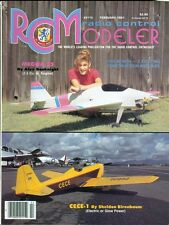 1991 RC Modeler Magazine: Megna 25/CECE-1 Electric or Glow Power/Construction