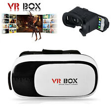 VR Box Virtual Reality 3D Glasses Cardboard Movie Game for Samsung iPhone IOS