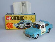 Corgi Toys No. 506, Rare Light Blue and white Police 'Panda' Imp, - Superb Mint