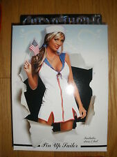 NEW WOMEN'S 3PC SEXY *PIN UP SAILOR* HALLOWEEN COSTUME SIZE LARGE/XLARGE 12-18