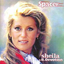 ☆ CD SINGLE SHEILA B. DEVOTION - CHIC Spacer CARD SLEEVE 3-TRACK  ☆