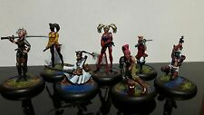 malifaux viktorias hired swords crew painted all character cards included