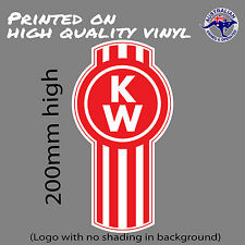 KENWORTH Trucks logo (with no shading) decal  UTE TOOLBOX CAR WINDOW STICKER