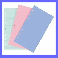 Filofax Personal size Fashion Coloured Ruled Notepaper Refill Insert 130507