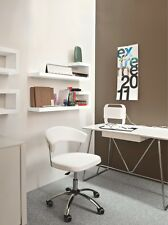 Calligaris Büro - Stuhl New York CS 624  GU in weiß