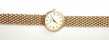 Rotary Gold Watch 9 Carat Boxed 34grams Ladies Round Gold Strap