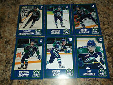 2014-15 SWIFT CURRENT BRONCOS BRYCEN MARTIN WHL PLAYER TRADING CARDS