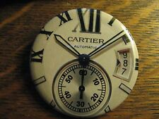 Cartier Multi Dial Automatic Wrist Watch Advertisement Pocket Lipstick Mirror
