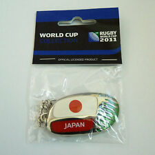Rugby World Cup RWC 2011 Japan Country Key Ring