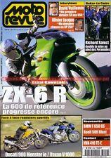 MOTO REVUE 3409 KAWASAKI ZX-6 Ninja VOXAN Roadster DUCATI 900 Monster BMW R1100