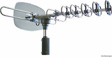 ELECTRIC POWERED REMOTE CONTROLLED 1080P 720P HD TV TELEVISION ANTENNA ANTENA