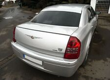 Chrysler 300C Sedan SRT Rear Trunk Boot Spoiler Lip Wing Sport Trim Euro SRT8