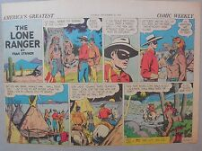 Lone Ranger Sunday Page by Fran Striker and Charles Flanders from 11/22/1942