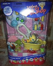 Littlest Pet Shop SQUEAKY CLEAN PETS 149 Turtle 150 Duck 151 Jack Russ 2005 VHTF