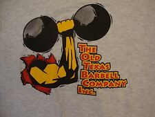 The Old Texas Barbell Company Inc. Weightlifting Company Logo T Shirt S